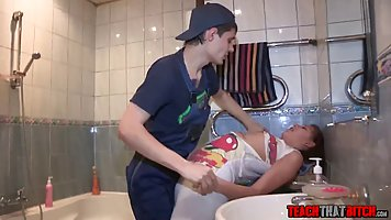 Fresh teen gets fucked in the ass