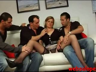 French mature group porn