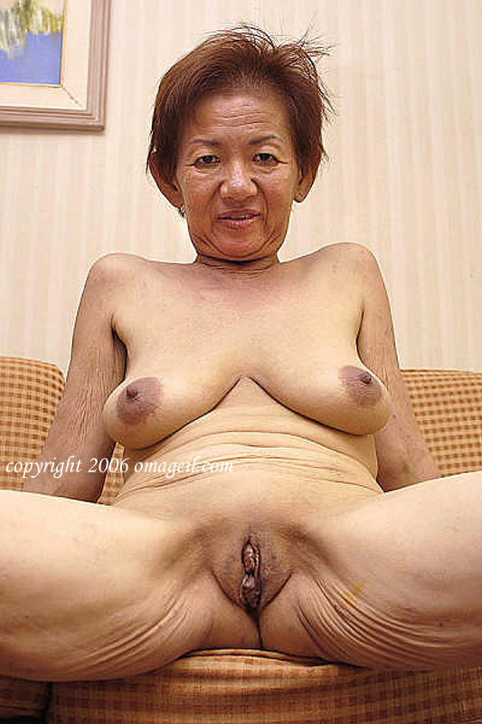 Old asian women naked pic