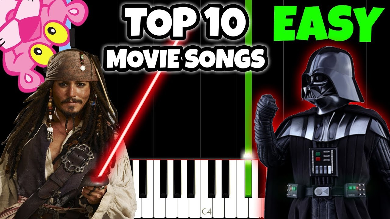 Easy songs to play on piano that are popular