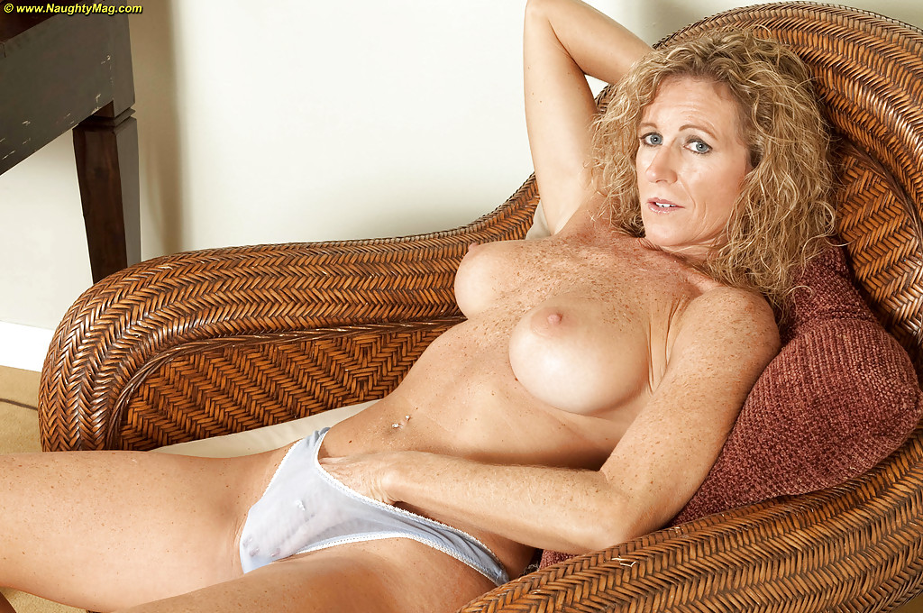 Mature freckled nude pics
