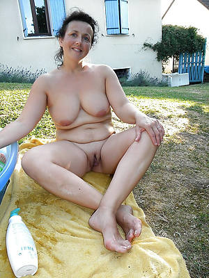 Mature nudes outdoors