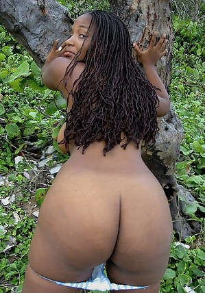 Naked black ass party